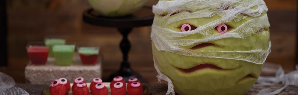 A Creative Twist on Halloween Carvings